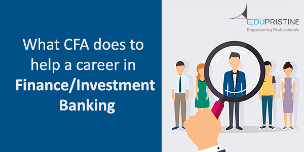 CFA career in finance